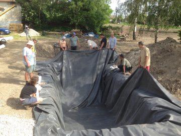 Workshop: Bezodtoková koreňová čistiareň - rekonštrukcia @ Ekocentrum ArTUR | Hrubý Šúr | Bratislavský kraj | Slovensko