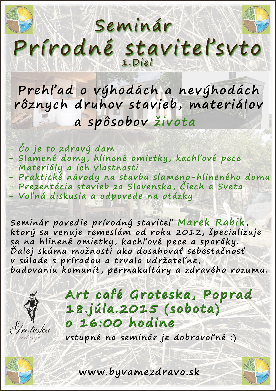 Seminár o prírodnom staviteľstve v Poprade  9f24b3c1e32