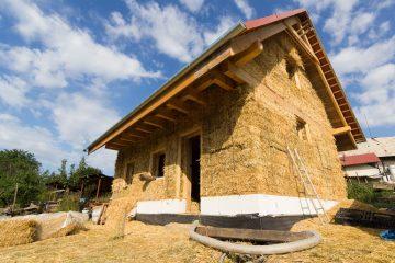 S1: Slama ako stavebný materiál, koncept slameného domu @ Ekocentrum ArTUR | Hrubý Šúr | Slovensko