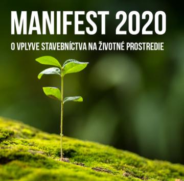 Klimatická výzva pre profesionálov v stavebníctve: Manifest2020 @ Výzva pre slovenských aktérov v stavebnom priemysle: http://www.manifest2020.sk